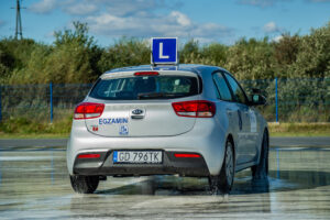 auto, egzamin na prawo jazdy